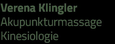 Verena Klingler • Akupunktur-Massage • Kinesiologie
